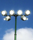 LED tennis Court floodlighting