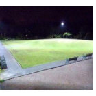 Retractable Metal Halide Floodlighting at Prestbury bowling Club