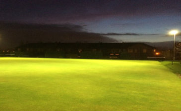 metal halide bowling green lighting